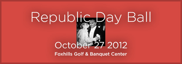 Republic Day Ball October 27 2012