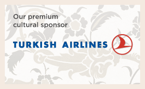 Our premium cultural sponsor: Turkish Airlines