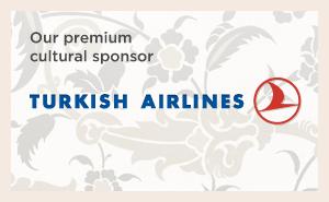 Our premium cultural sponsor: Turkish Airlines