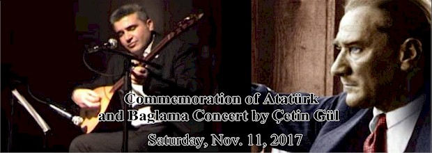 Commemoration of Ataturk and Baglama Concert
