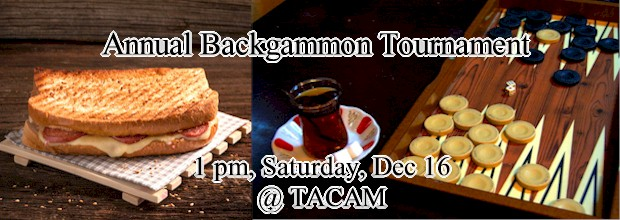 Annual Backgammon Tournament