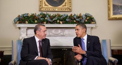 President Obama with President Erdogan on December 7, 2009