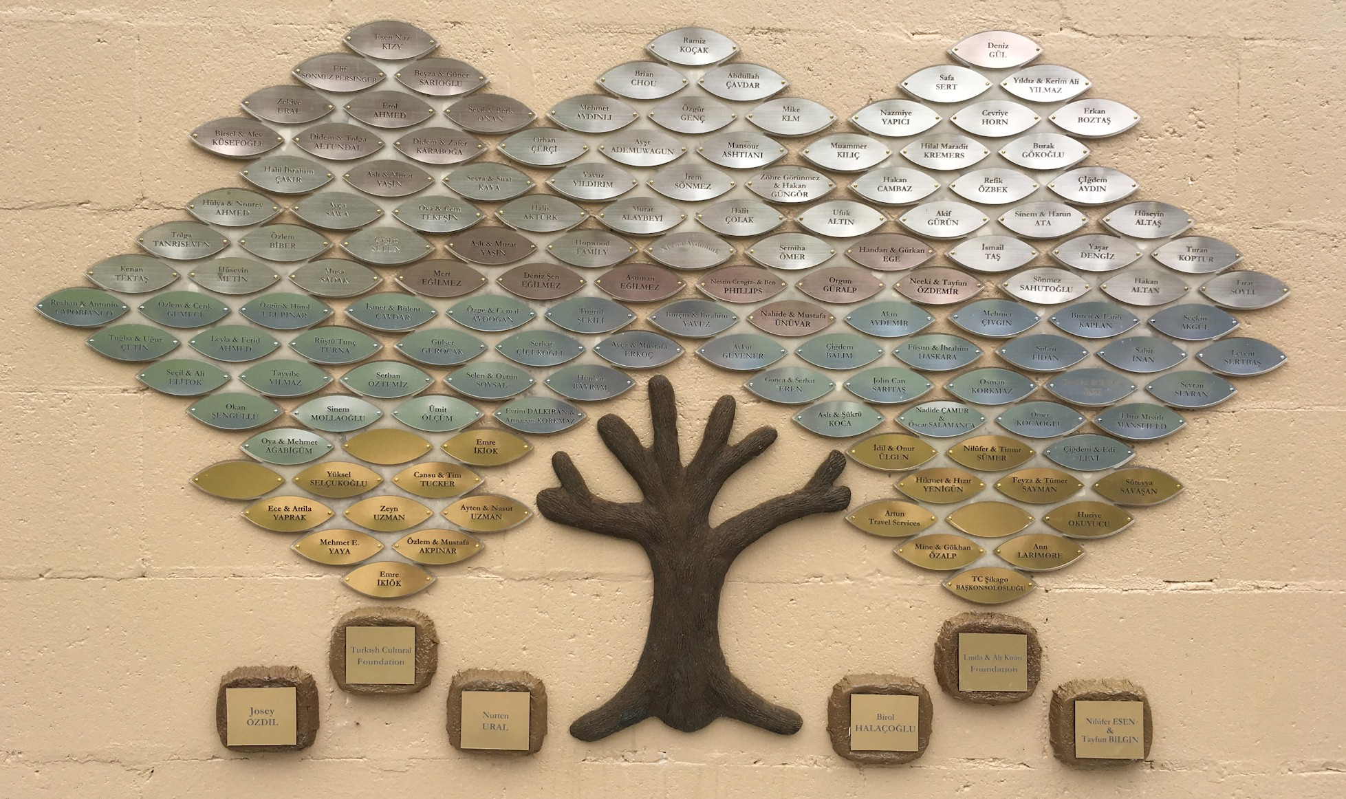 Ataturk Park Donation Tree