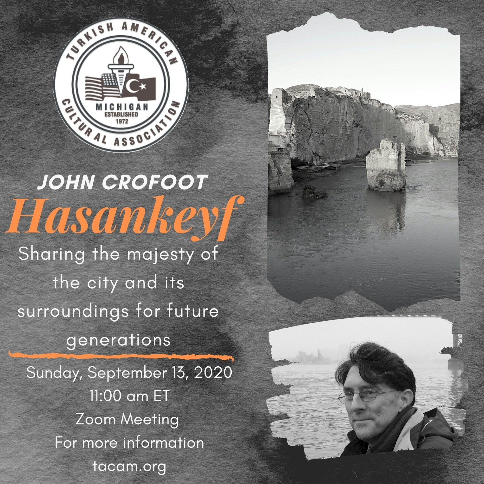 Hasankeyf Talk with John Crofoot